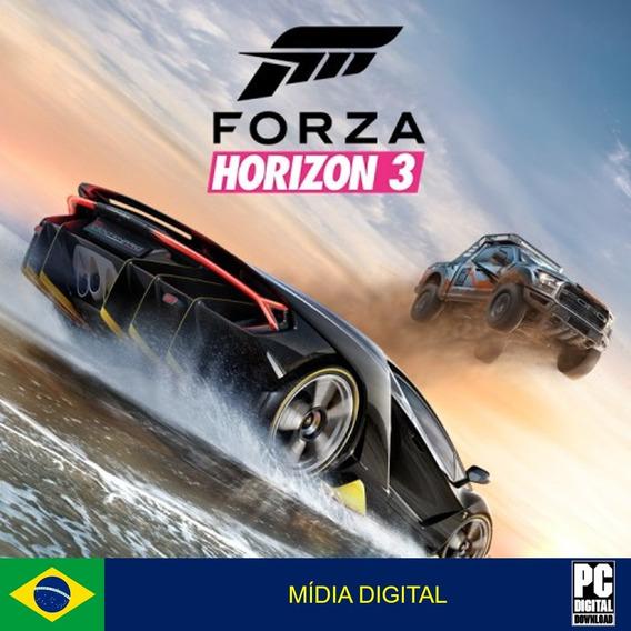 Forza Horizon 3 Pc Original Envio Digital Imediato!