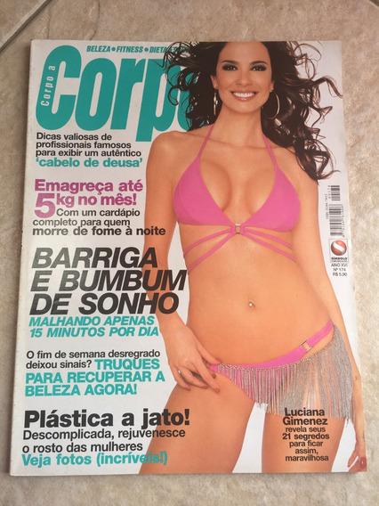 Revista Corpo A Corpo 174 Luciana Gimenez Ano 2003 J363