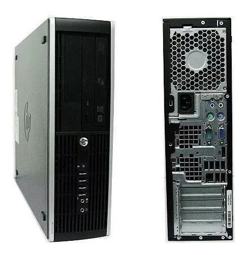 Cpu Hp Elite 8100 Core I5 8gb Hd 240ssd + Cabo De Força