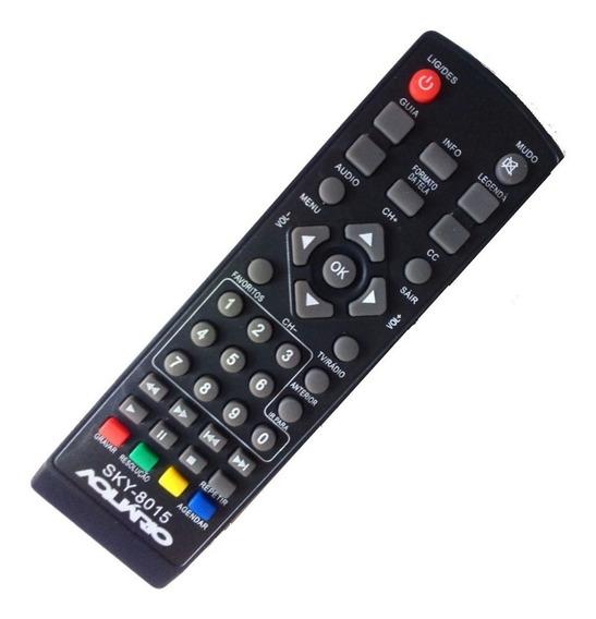 Controle Conversor Aquário Dtv4000 Dtv5000 Dtv6000 Dtv7000
