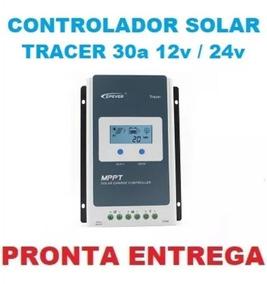 Controlador De Carga Solar Mppt Epever Tracer 30a 3210an 12x
