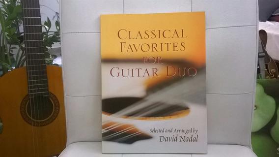 Livro Classical Favorites For Guitar Duo - Arranjo 2 Violões
