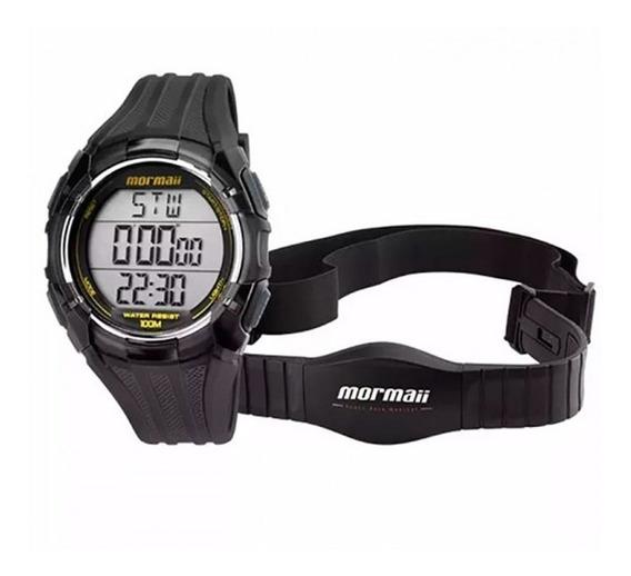 Relógio Mormaii Masculino Digital Monitor Cardíaco Mo11558a/