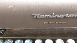 Maquina Antigua De Escribir Remington