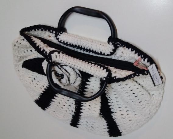 Cartera Artesanal Crochet-infaltable: Regalá & Te-hoy!