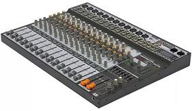 Mesa De Som Analógica Soundcraft Sx1602 Fx Usb 16 Canais