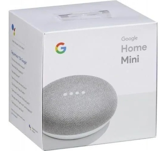 Google Home Mini Lacrado 100% Original Na Caixa Lacrado