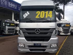 Mercedes Axor 2644 6x4 Ano 2014