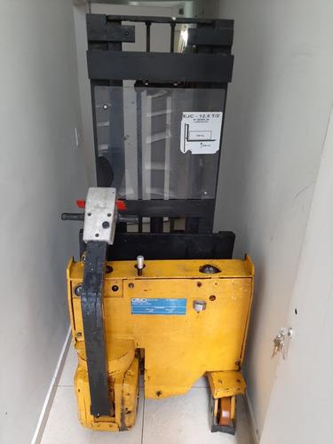 Empilhadeira Elétrica Ejc 1,25t Patolada S/ Bateria, S/ Carr