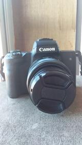 Canon M50 Mirrorless Como Nova!