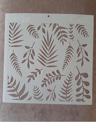 Camila - Stencil 30 X 30cm