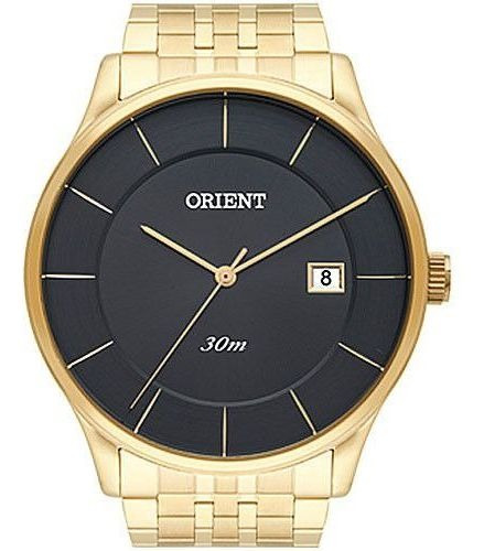 Relógio Orient Feminino Dourado Analógico Mgss1127 G1kx