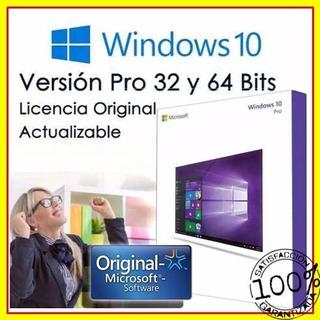 Windows 10 Pro N Original Para 32 Y 64 Bits