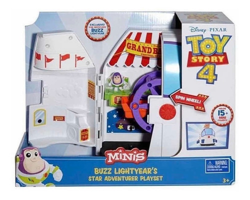 Toy Story Mini Buzz Lightyear Centro De Entretenimiento