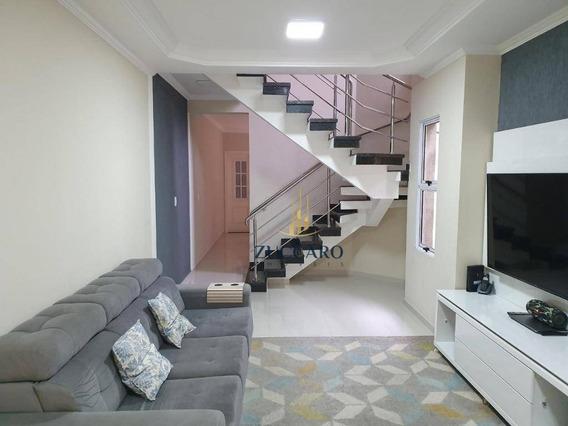 Sobrado Com 3 Dormitórios À Venda, 150 M² Por R$ 830.000 - Vila Augusta - Guarulhos/sp - So4235