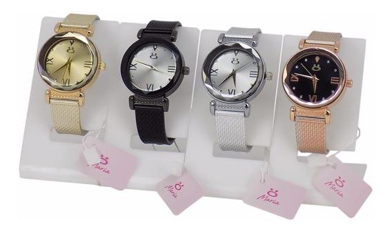 Kit 4 Relógios Orizom Maria Original