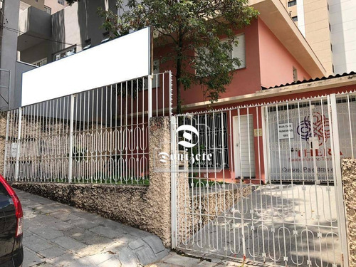 Sobrado Com 3 Dormitórios À Venda, 156 M² Por R$ 1.600.000,00 - Jardim - Santo André/sp - So3493