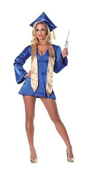 Disfraz Mujer Phdarling Graduada Sexy Talla M