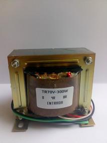 Transformador Tronco Para Linha De Áudio 300w/70v