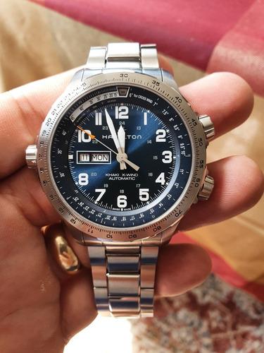 Relógio Hamilton Khaki X Wind H77765141 Automático
