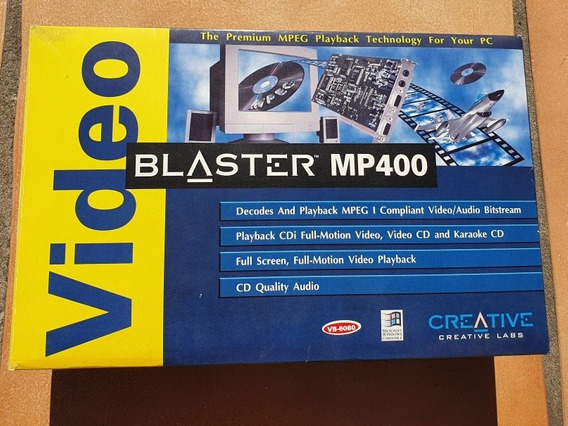 Placa De Video Creative Videoblaster Mp400 Isa Reliquia