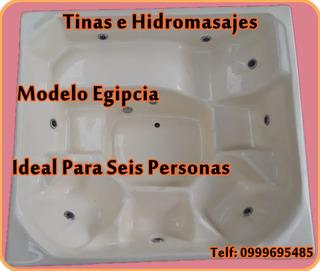 Tinas E Hidromasajes Fibra De Vidrio