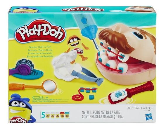 Brincando De Dentista Play-doh - Hasbro B5520 + Nota Fiscal