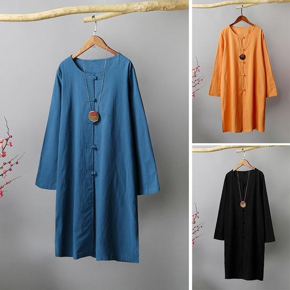 Ropa De Abrigo Vintage Para Mujer, Color Sólido, Rana De