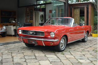 Mustang 66 Conversível Dodge Coupê Camaro Maverick Opala