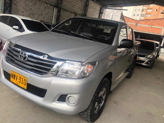 Toyota Hilux Diésel 4x4 Doble Cabina 2,5 2013
