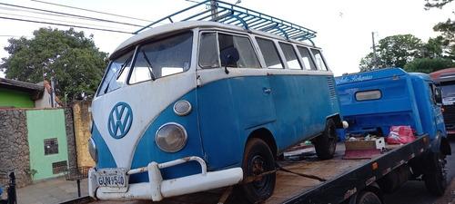 Imagem 1 de 15 de Vw Kombi Samba Luxo Samba Bus Export