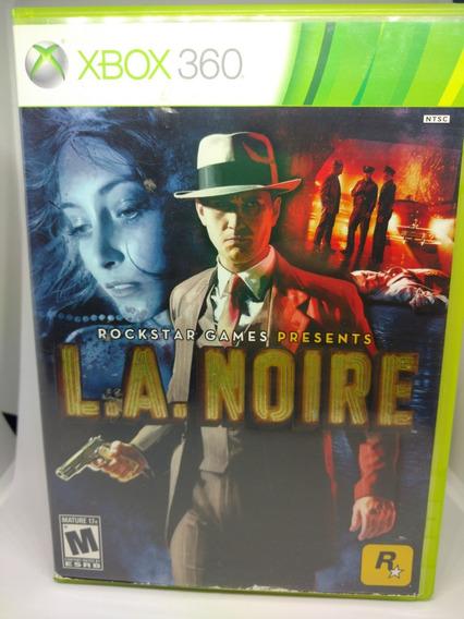 Xbox 360 La Noire Americano Completo Com Dlc