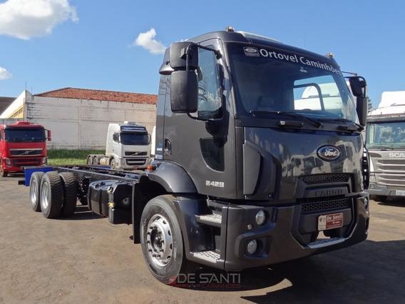 Ford Cargo 2429 Ano 2014/14 6x2 No Chassi De Santi Caminhões
