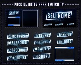 Pack De Arte Para Twitch Tv