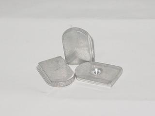 Base Para Espejo Retrovisor Dia/noche Aluminio/plana