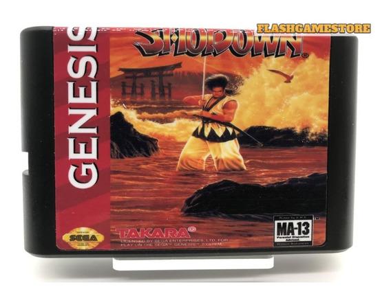 Mega Drive Jogo - Samurai Shodown Paralelo