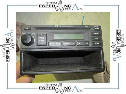 Cd Player Original Desbloqueado Hyundai Tucson - 6901 R