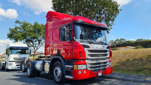 Scania P 360 Trucado 6x2 Automáticos Único Dono Lindo 2014