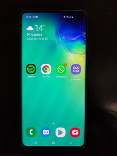 Samsung Galaxy S10. Libre. Usado. Prism Black.