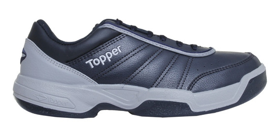 Zapatillas Topper Tennis Tie Break Iii Hombre Mn/gp