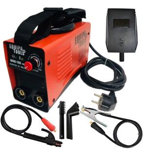 Maquina De Solda Inversora Mini 160a Eletroldo Tig 220v