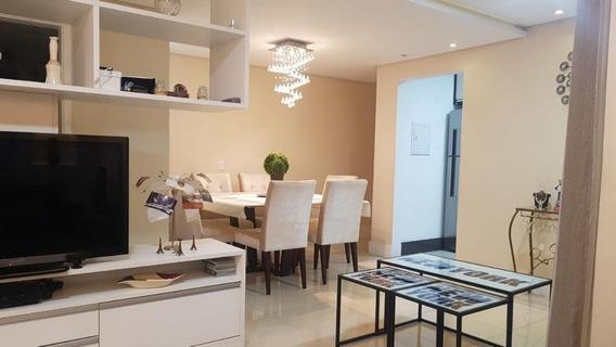 Apartamento Em Jardim Wanda, Taboão Da Serra/sp De 73m² 3 Quartos À Venda Por R$ 459.000,00 - Ap506104