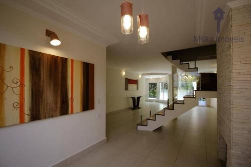 Imagem 1 de 23 de Casa 4 Dormitórios À Venda, 390 M², Residencial 03 Alphaville , Santana De Parnaíba/sp - Ca0447