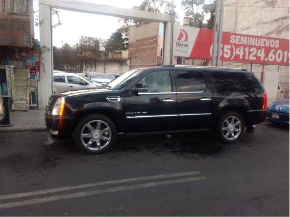 Cadillac Escalade 2013 5p Esv Platinum Lujo Aut. V8 6.2l 8