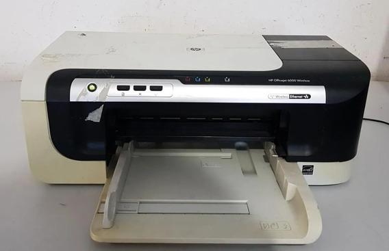 Impressora Hp Officejet 6000 Wireless Sucata Ref: 01662