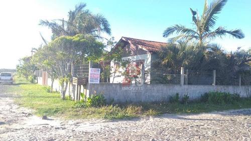 Casa Com 5 Dormitórios À Venda, 160 M² Por R$ 275.000,00 - Centro - Balneário Arroio Do Silva/sc - Ca1839