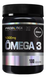 Ômega 3 - 1000 Mg - 100 Capsulas - Probiotica