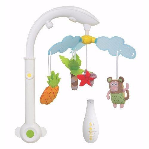 Móvil Cunero Sonido Y Luces  Taf Toys Tropical Mobile