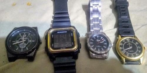 Relojes De Mujer Y Unisex Funcionando 007 X 5 Unidades