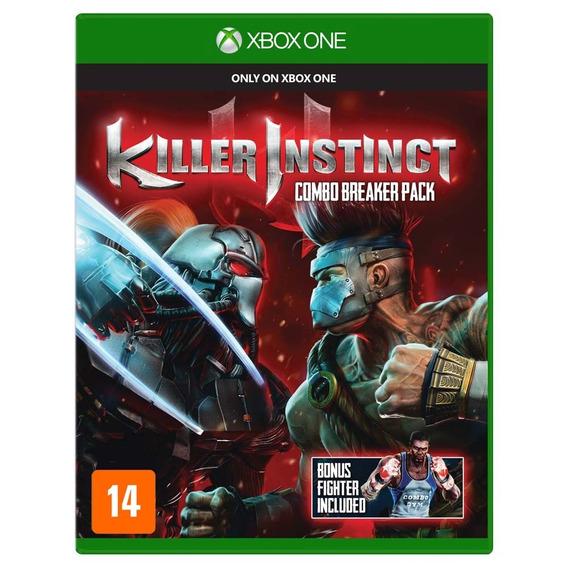 Killer Instinct - Xbox One Físico Novo E Lacrado